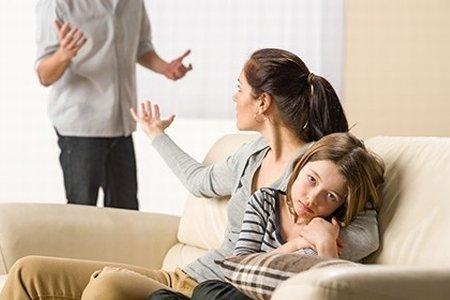 Discusiones por los hijos