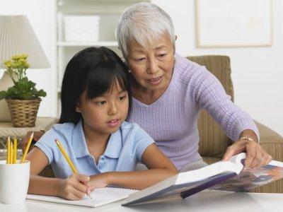 Abuelos como educadores