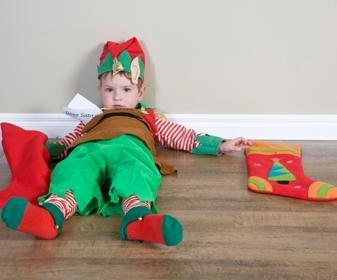 El agotamiento de la temporada navideña