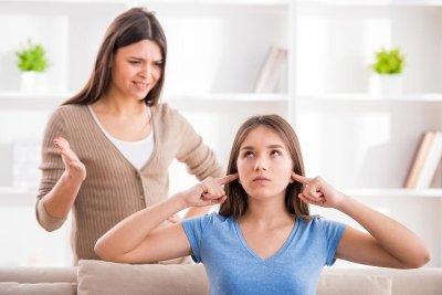 Fuerte discusión con tu hijo